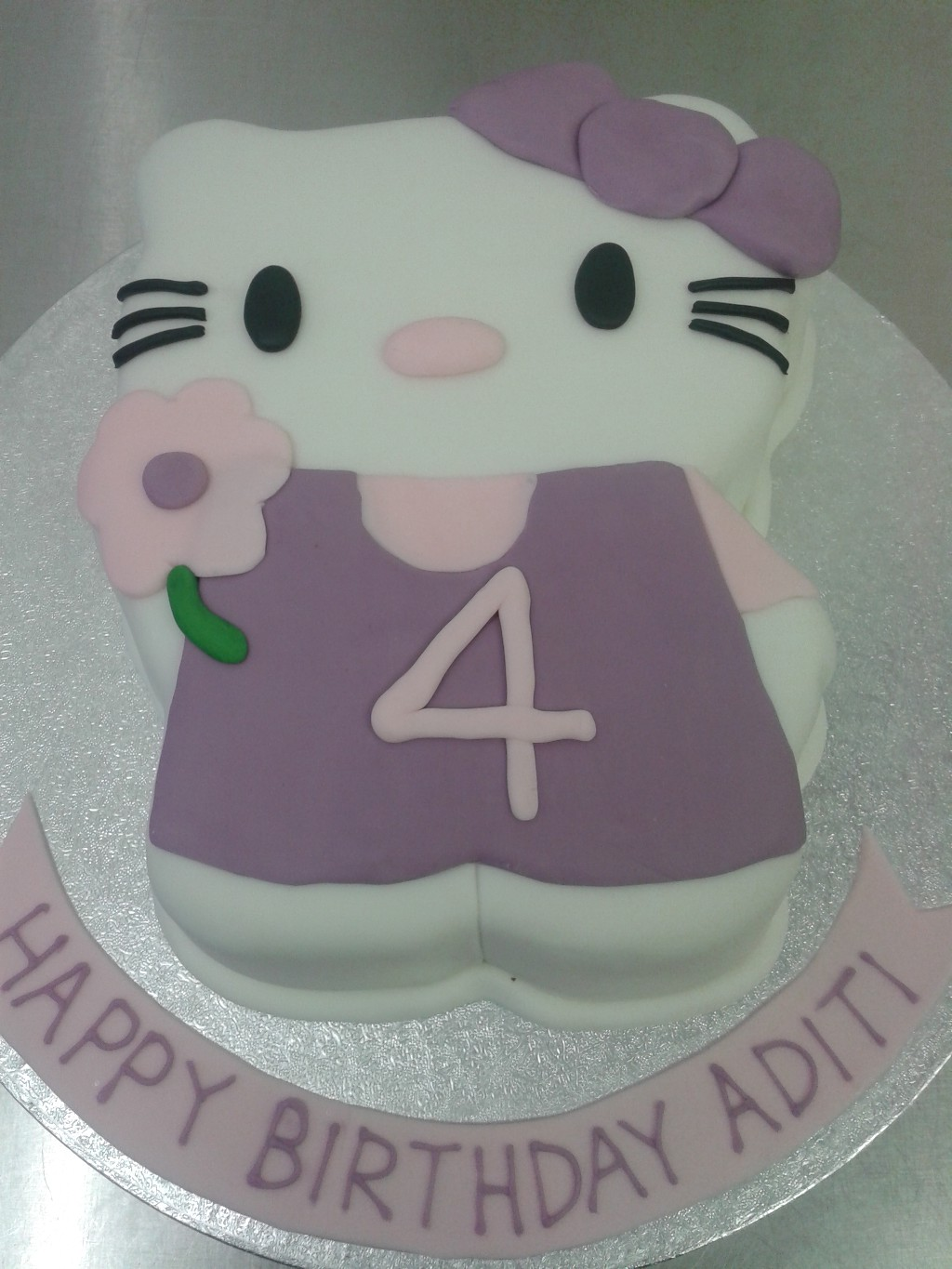 D Hello Kitty Birthday Cake