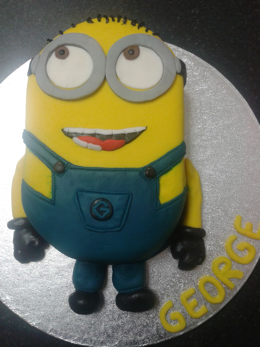 Despicable Me Minion 6th Birthday Cake Crumbs Cake Shop Sheffield