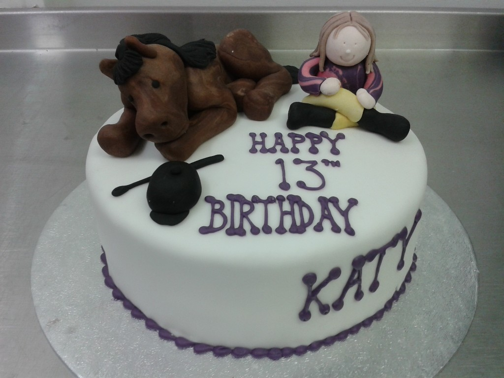 Horse Themed Birthday Cakes Horse Riding Themed Birthday