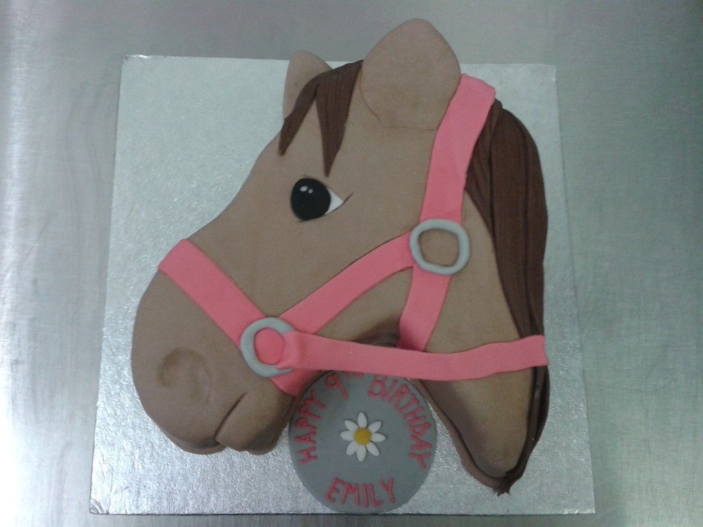 Horse Head 9th Birthday Cake Crumbs Cake Shop Sheffield