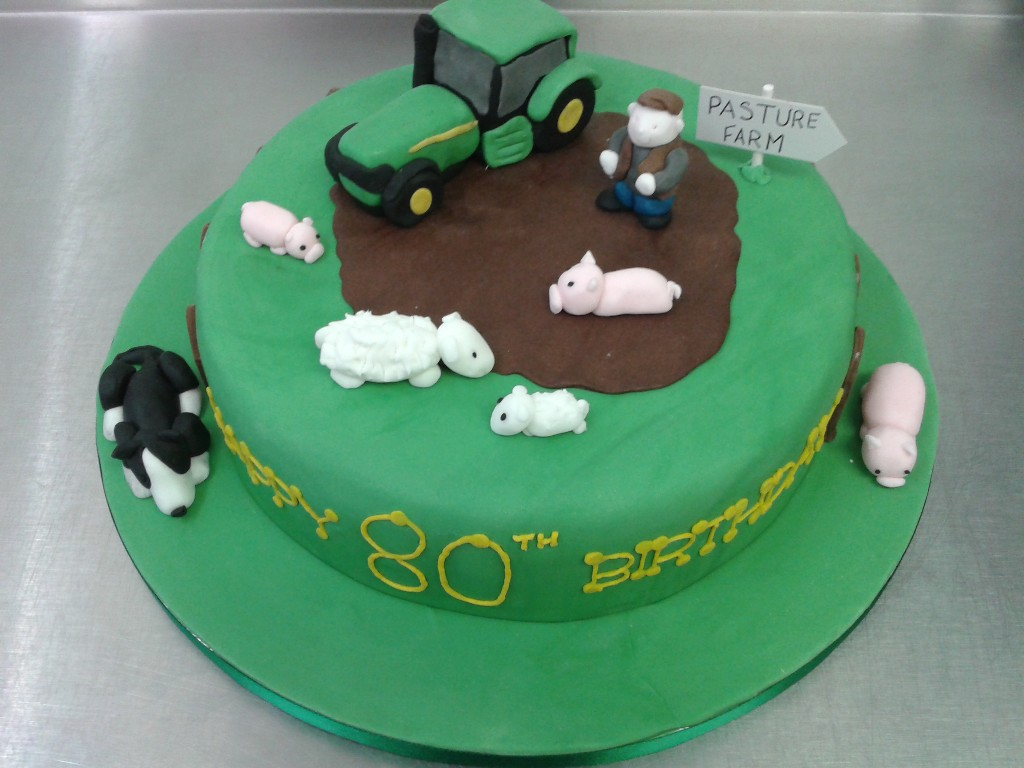 How To Decorate Tractor Cake