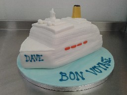 Cruise Ship Bon Voyage Celebration Cake