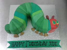 Hungry Caterpillar 1st Birthday Cake