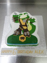 Stink Bomb From Skylander 6th Birthday Cake