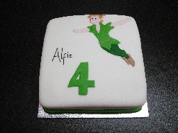 Peter Pan 4th Birthday Cake