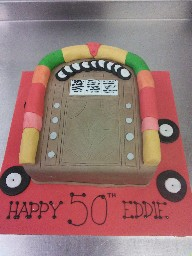 Old Style Jukebox 50th Birthday Cake