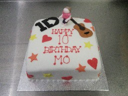 1Direction 10th Birthday Cake