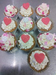 Valentines Day Cup Cake Selection