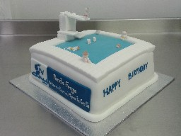 Ponds Forge Diving Cake