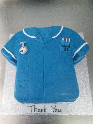 Nurses Uniform Cake