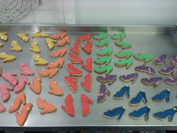 High Heel Shoe Gingerbread Biscuits