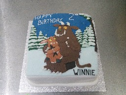 Gruffalo Themed 2nd Birthday Cake