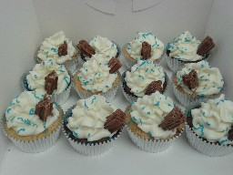 99 Flake Cup Cakes