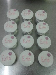 Personalised Iced Cup Cakes
