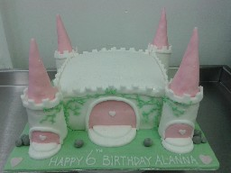 Fairytale Princess Castle Birthday Cake